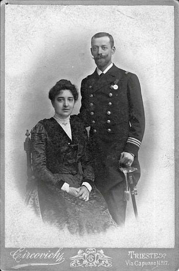 Artur und Hortense Drexel 1901