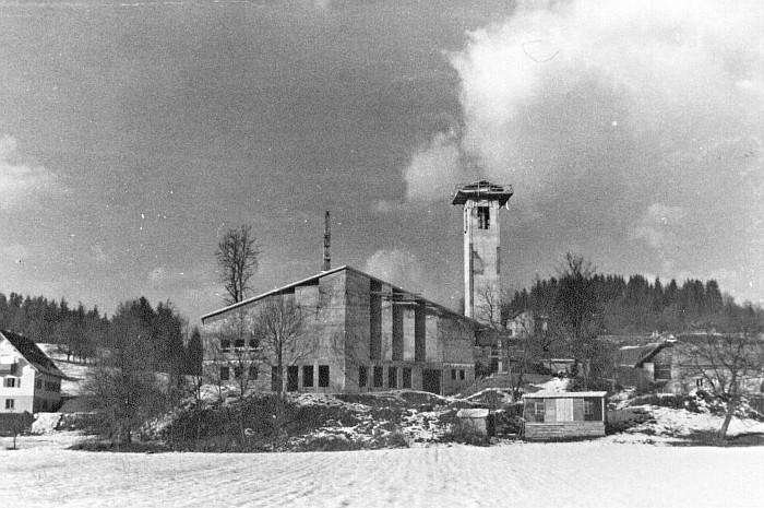 Neubau Christkönigkirche 1961