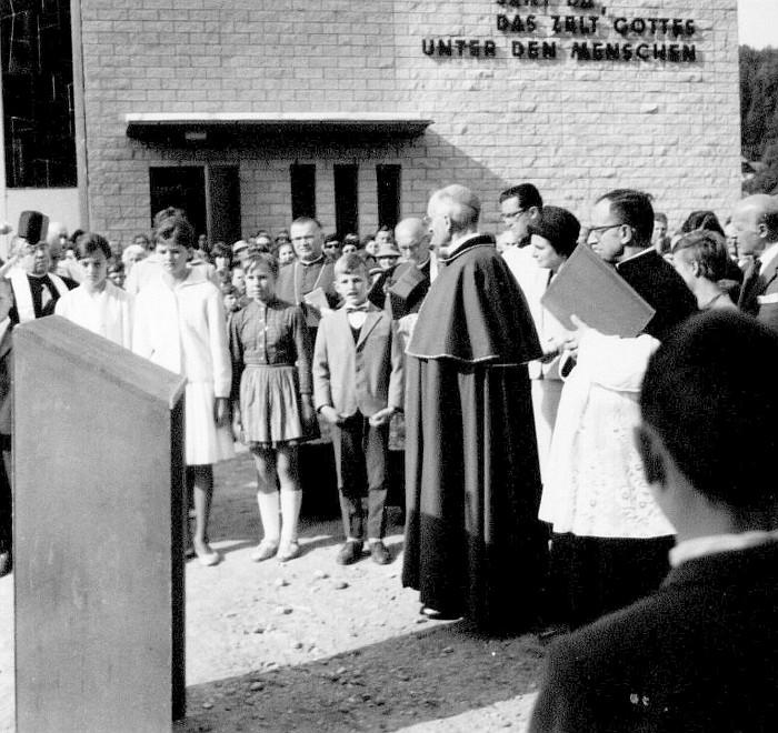 Einweihung der Christkönigkirche 1962