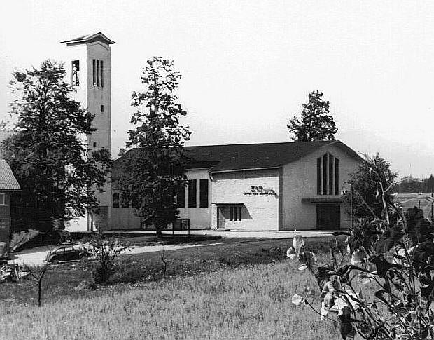 Die fertiggestellte Christkönigkirche