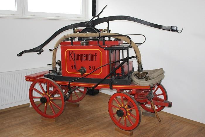 Feuerwehrspritze Krumpendorf 1880