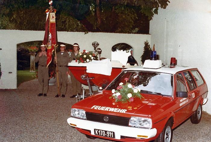 Weihe Einsatzfahrzeuge 1982