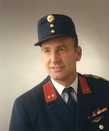 Neuer Kdt. der FFK Tragl Sigi 1990
