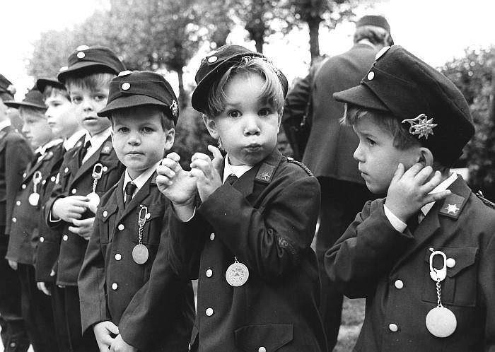 Die Kleinsten in Uniform 1990