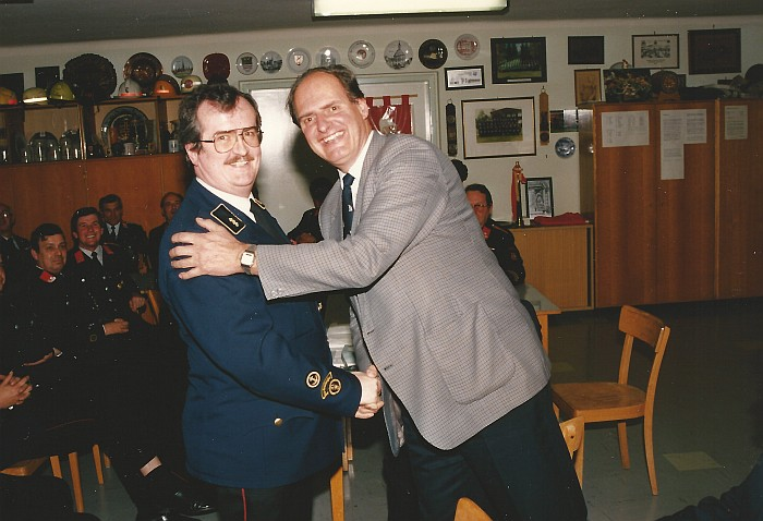 Dr. Dieter Kopper wird Kommandant 1991