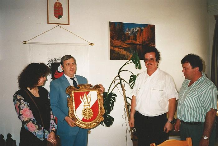 Sternfahrt nach Gyula 1992