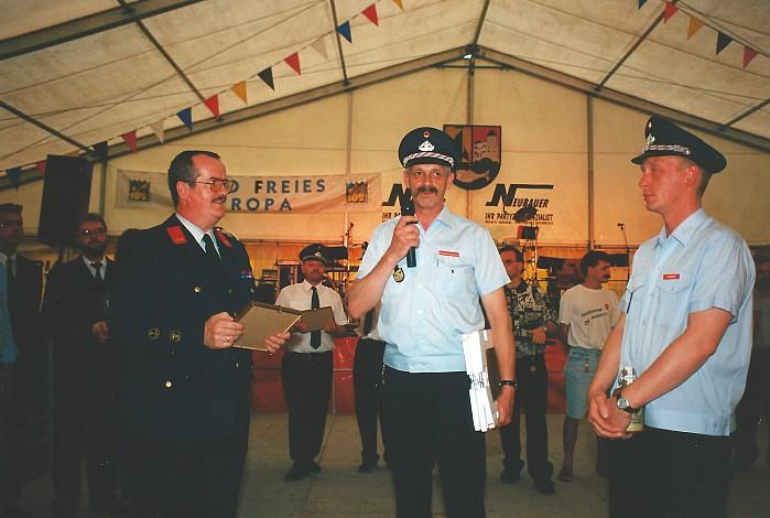 Musikkapellenfestival Preisverleihung 1996