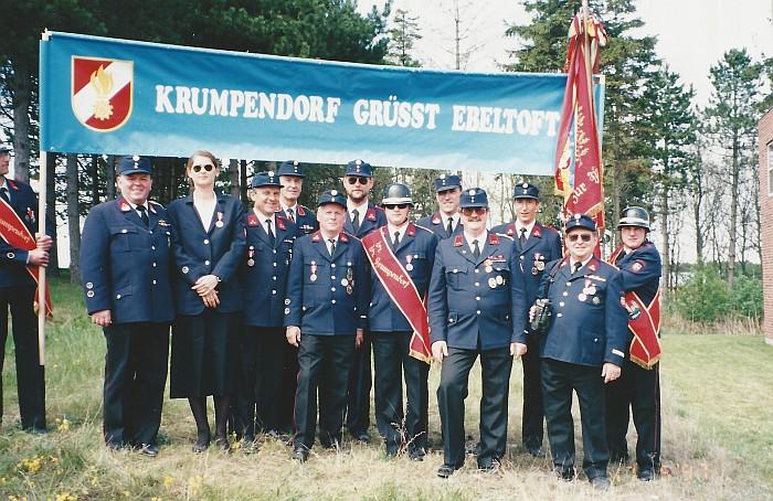 Sternfahrt Ebeltoft, Krumpendorfer Delegation, 1997