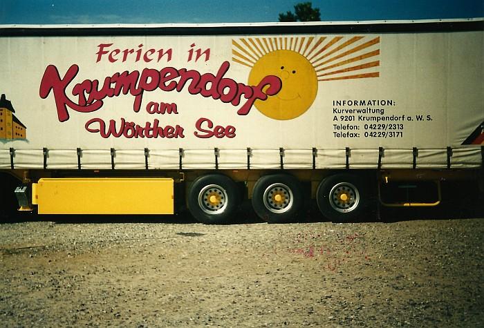 Sternfahrt Ebeltoft 1997, Krumpendorfer Truck.