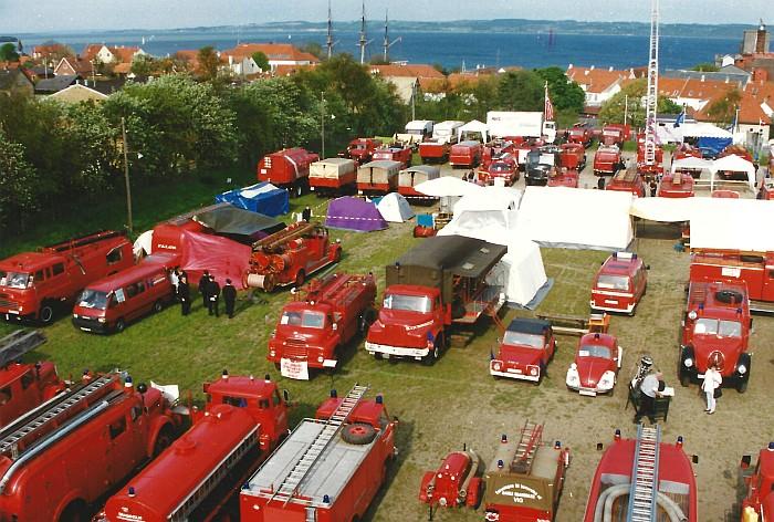 Sternfahrt Ebeltoft 1997, Oldtimerschau.