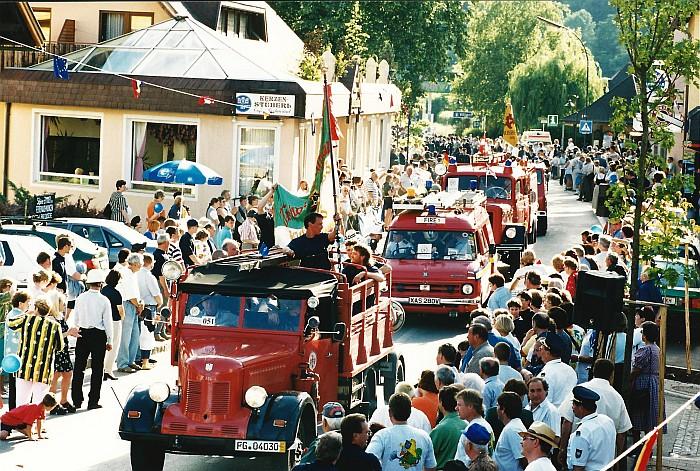 Sternfahrt Krumpendorf Festzug 1999