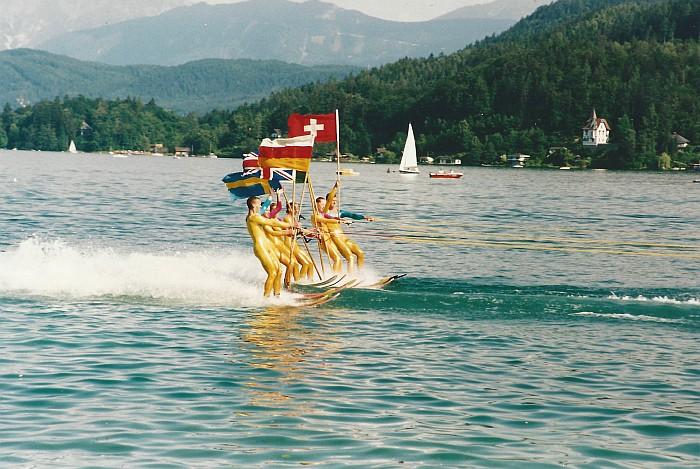 Sternfahrt Krumpendorf 1999, Wasserskishow