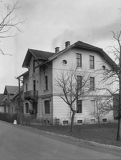 Altes Gemeindeamt Krumpendorf an der Hauptstraße ca. 1910