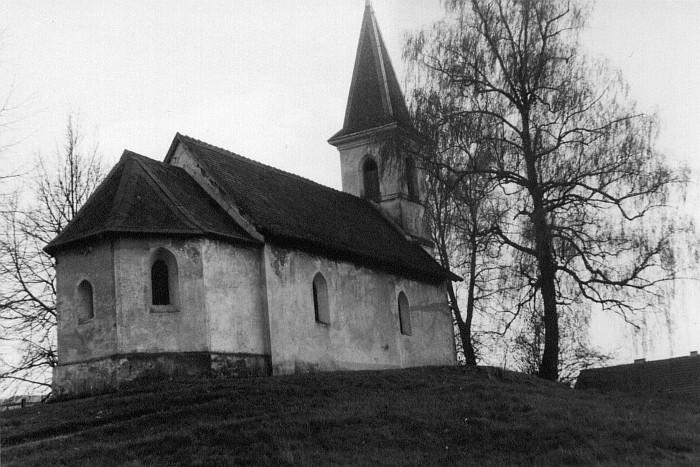 Nordseite der Georgskirche Krumpendorf