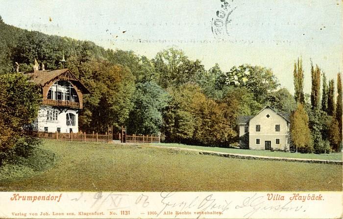 Villa Haybäck 1905