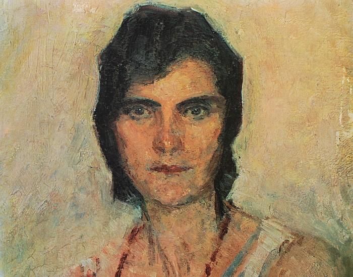 Jugendportrait Baronin Kläre Hoschek-Mühlheim