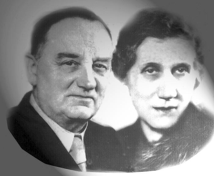 Karl Maria und Frieda Kerndle 1940er Jahre