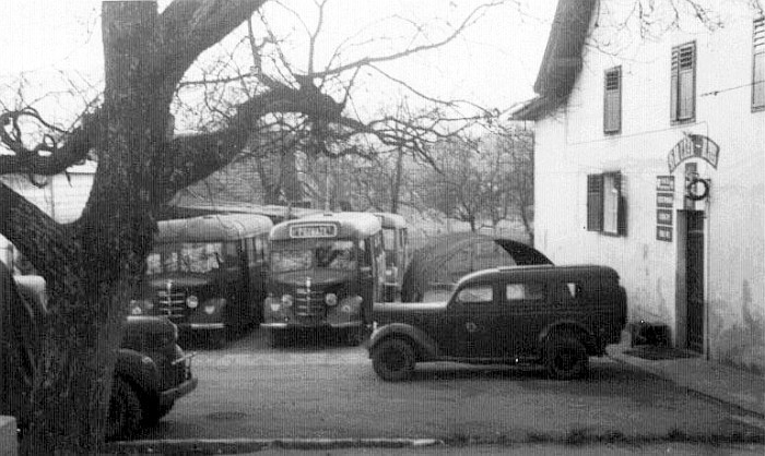 Englisches Hauptquartier bei Koch 1948