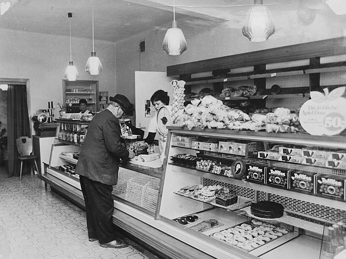 Bäckerei Kutternig 1975