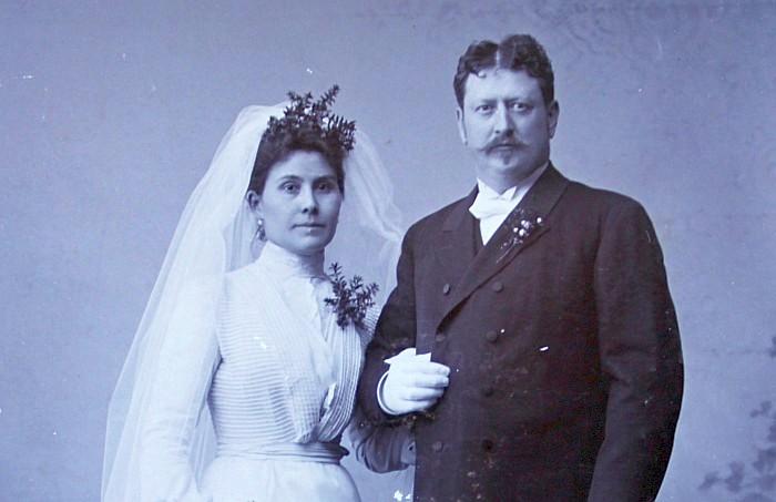 Karl Kutternig sen. mit seiner ersten Frau
