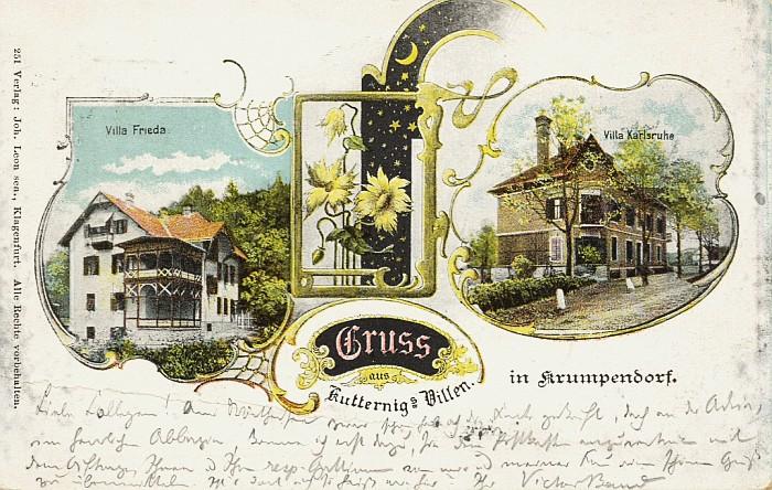 Kutternigs Villen 1900