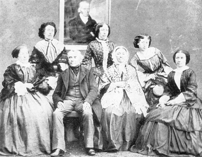 Die Familie Lanners 1855