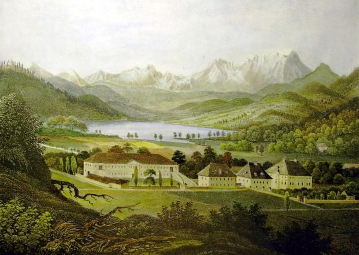 Schloss Krumpendorf 1835-40
