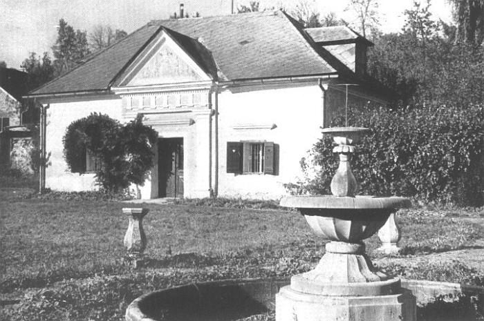 Der 1828 angelegte Krumpendorfer Schlossgarten