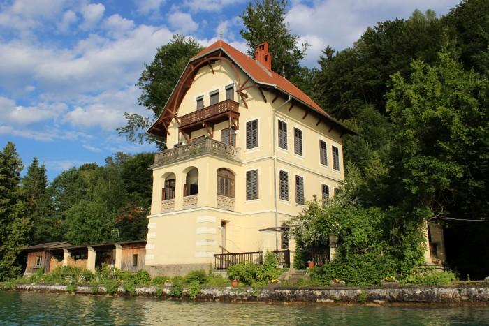 Villa Mahler am Südufer des Wörthersees