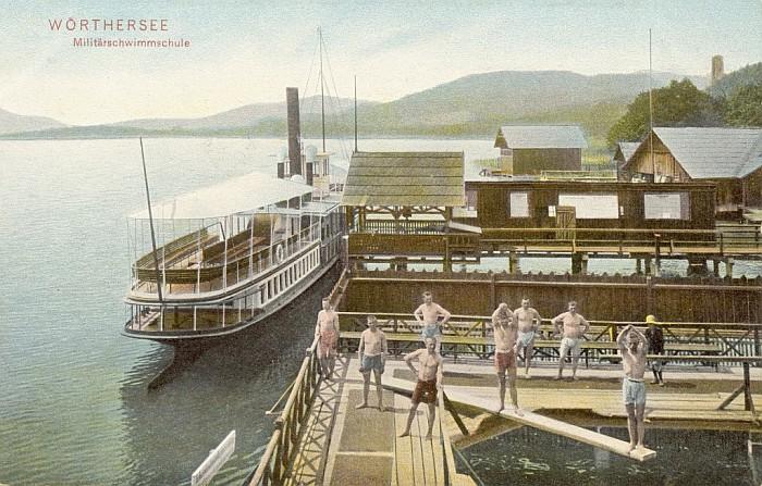 Militärschwimmschule Männerabteilung 1906