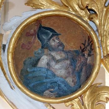Eustachius mit dem Hirsch