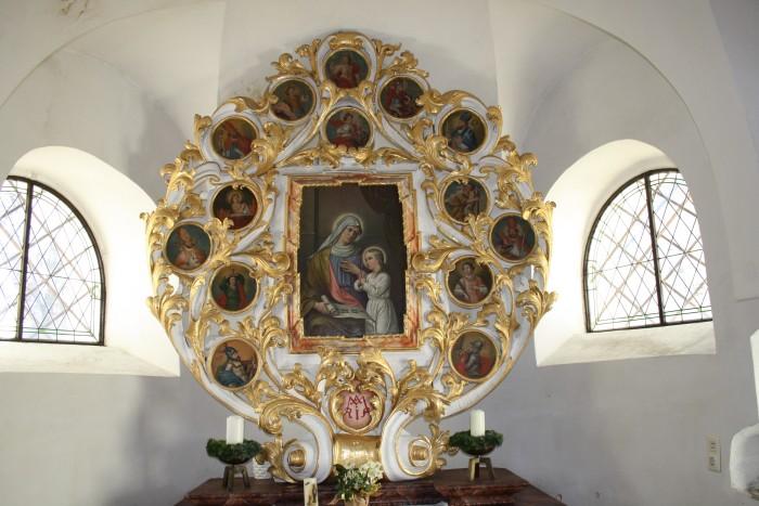 Nothelferaltar in der Ulrichskirche