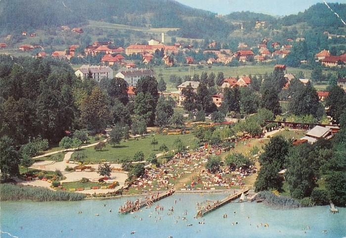 Parkbad Luftbild 1960er