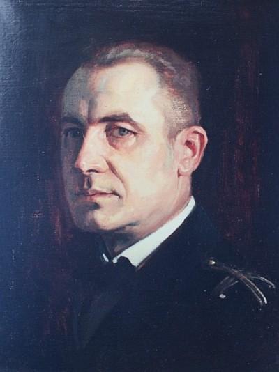 Albert Peter-Pirkham Portrait