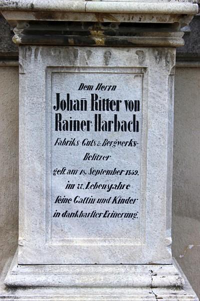 Grabstein Rainers in St. Ruprecht