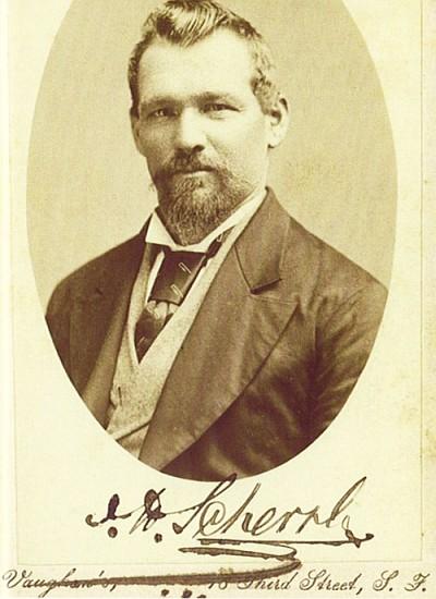 Scherrl in San Francisco, wo er 1878
