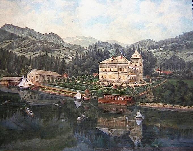 Villa  Scherrl ca. 1890