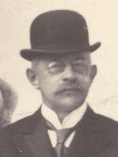 Max Schindler von Kunewald, um 1900