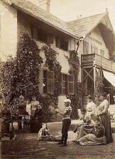 Villa Schindler in Krumpendorf,