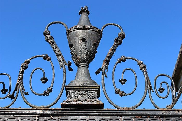Detail Tor Schlossgarten Krumpendorf