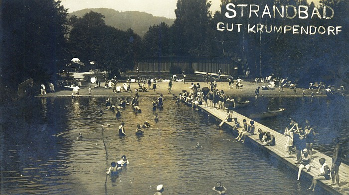 Strandbad Gut Krumpendorf 1925