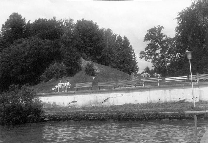 Areal, auf dem einst das Terrassenhotel stand. Sommer 1974