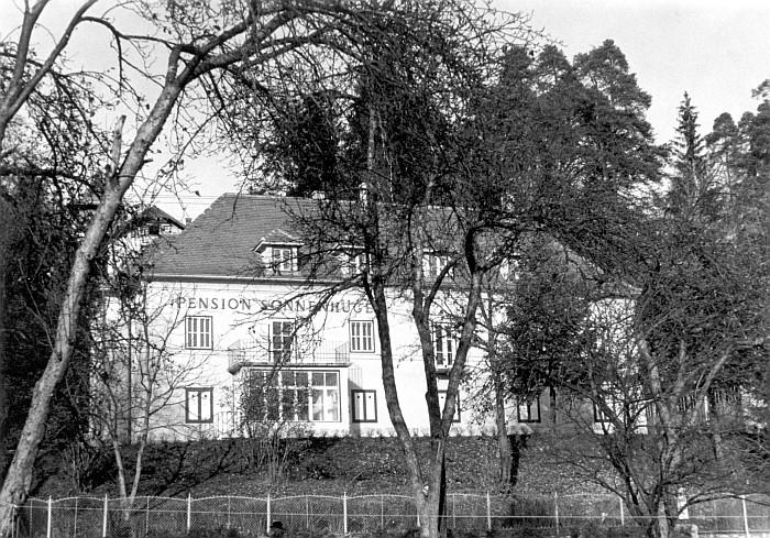 Pension Sonnenhügel ca. 1960