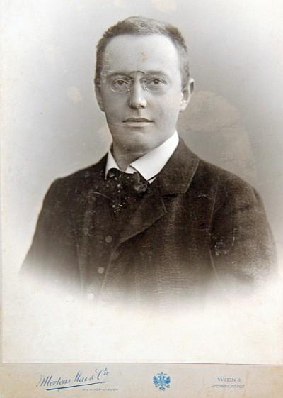 Der junge Theodor Streicher (1874-1940)