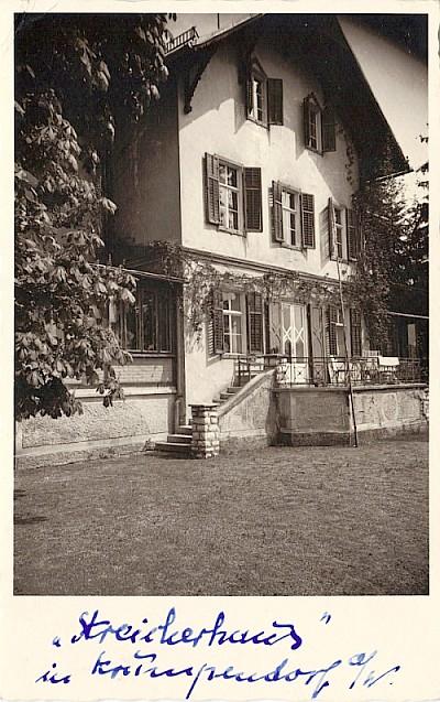 Streicherhaus in Krumpendorf 1959