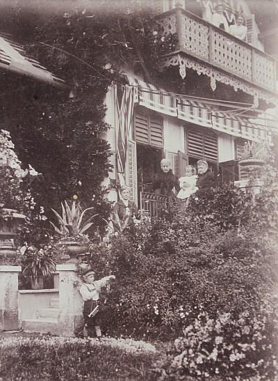 Villa Oblasser ca. 1890