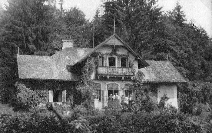 Villa Oblasser 1920er Jahre