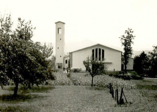 Die neue Christkönigkirche 1962