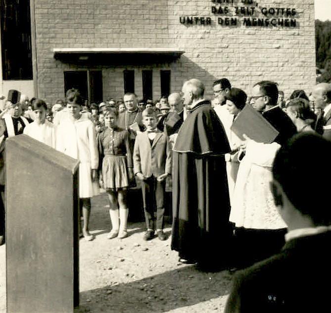 Einweihung Christkönigkirche 1962