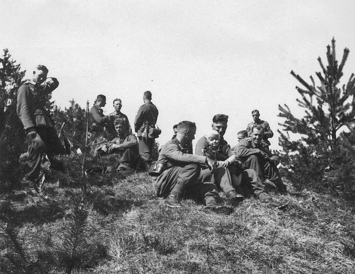 Deutsche Soldaten in Krumpendorf 1933